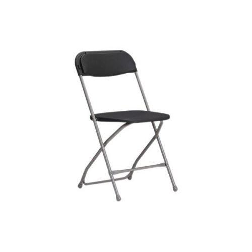 Chaise Samsonite grise - chaise pliante en location