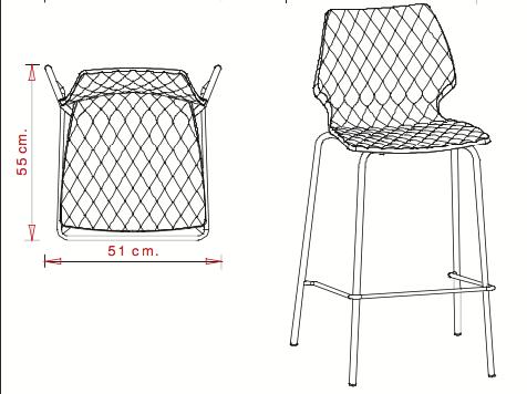 Chaise haute en location