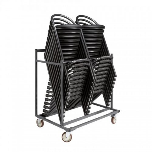 Location de tabourets cuir noir - tabourets de bar et chaises en location