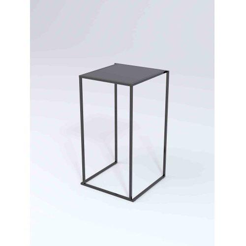 Location de table mange debout quadra noire