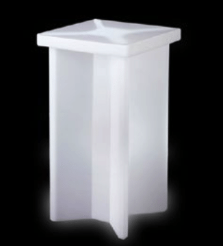 Location de table mange debout LED - Mobilier lumineux en location