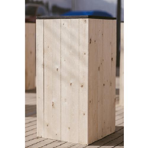 Location de tables hautes Wood