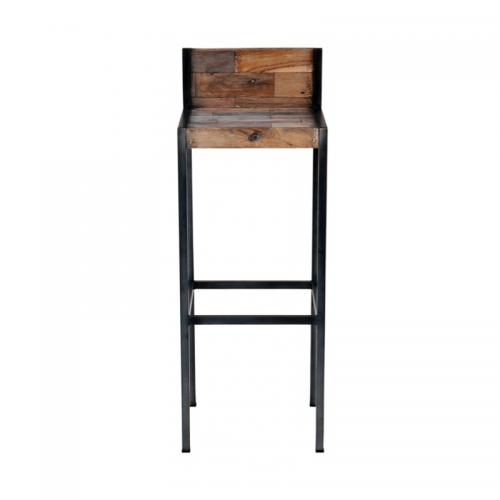 Tabouret Wood en bois - tabouret de bar a louer