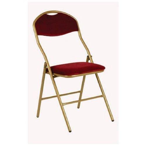 chaise vienna rouge en location