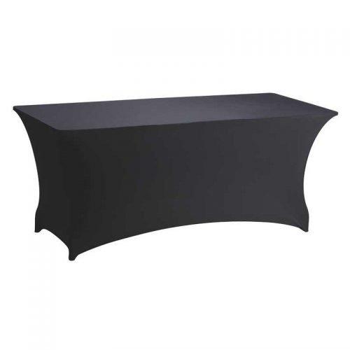 Housse tendue pour buffet - nappes pour tables en location