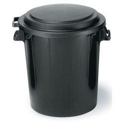 poubelle noire en location