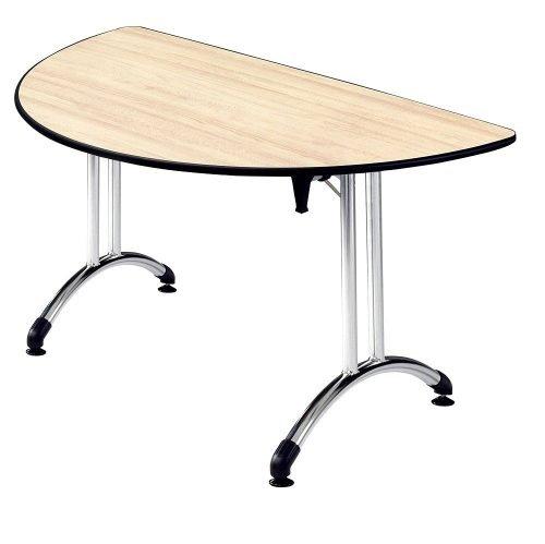Table demi-rond en location