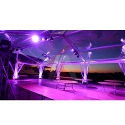 chapiteau toiture transparente - location de chapiteau