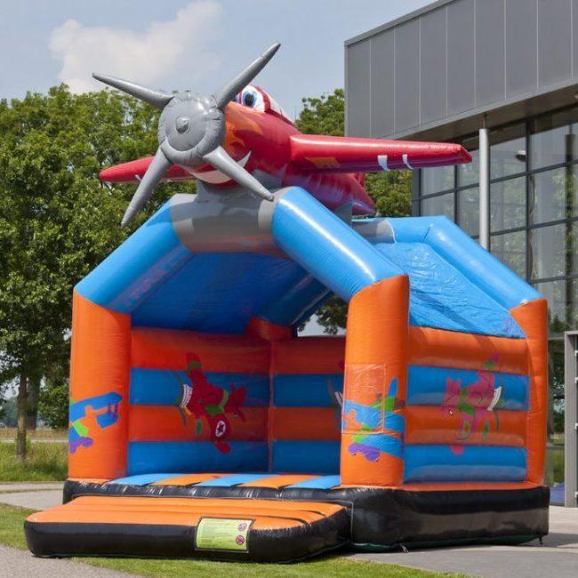 chateau gonflable avion 4x5m