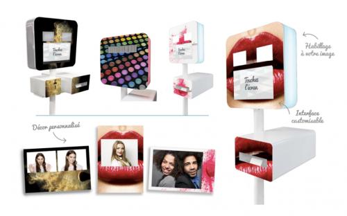 Location borne photo - photobooth personnalisable