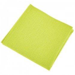 location nappes et serviettes : serviettes tissu vert anis