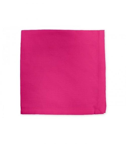 location nappes et serviettes : location tissu fushia