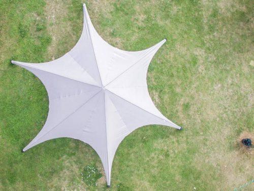 Location tente étoile 10 m - Starshade tente de réception